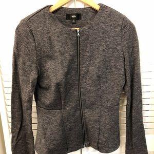 Gray women's jacket.